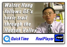 Walter Hang follows the GE's toxic trail through the Hudson Valley.